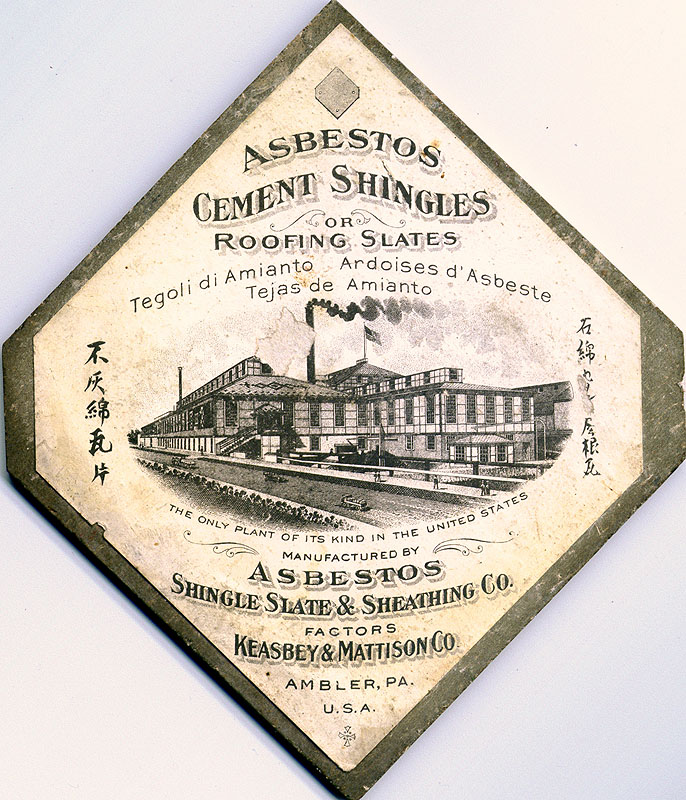 Ambler shingle salesman's sample
